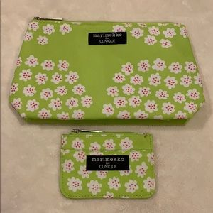 Makeup bags by Clinique